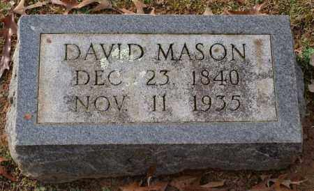 MASON, DAVID - Garland County, Arkansas | DAVID MASON - Arkansas Gravestone Photos