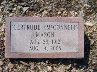MCCONNELL MASON, GERTRUDE - Garland County, Arkansas | GERTRUDE MCCONNELL MASON - Arkansas Gravestone Photos