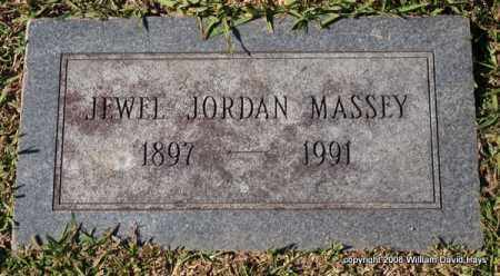 JORDAN MASSEY, JEWEL - Garland County, Arkansas | JEWEL JORDAN MASSEY - Arkansas Gravestone Photos