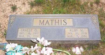 MATHIS, RUBY M. - Garland County, Arkansas | RUBY M. MATHIS - Arkansas Gravestone Photos