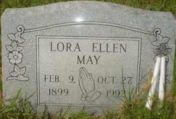 MAY, LORA ELLEN - Garland County, Arkansas | LORA ELLEN MAY - Arkansas Gravestone Photos