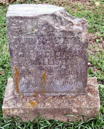 MCALLISTER, SILVIA - Garland County, Arkansas | SILVIA MCALLISTER - Arkansas Gravestone Photos