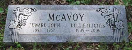 MCAVOY, EDWARD JOHN - Garland County, Arkansas | EDWARD JOHN MCAVOY - Arkansas Gravestone Photos