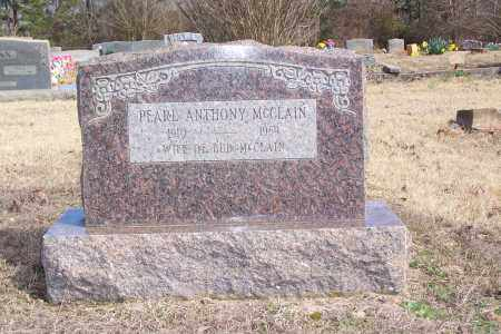 MCCLAIN, PEARL ANTHONY - Garland County, Arkansas | PEARL ANTHONY MCCLAIN - Arkansas Gravestone Photos