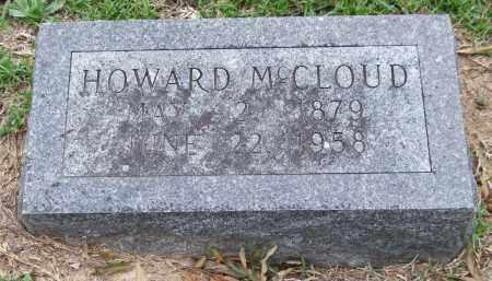 MCCLOUD, HOWARD - Garland County, Arkansas | HOWARD MCCLOUD - Arkansas Gravestone Photos