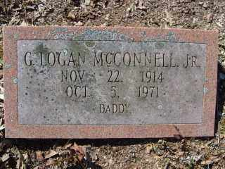 MCCONNELL, JR., G. LOGAN - Garland County, Arkansas | G. LOGAN MCCONNELL, JR. - Arkansas Gravestone Photos