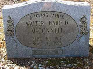 MCCONNELL, WALTER HAROLD - Garland County, Arkansas | WALTER HAROLD MCCONNELL - Arkansas Gravestone Photos