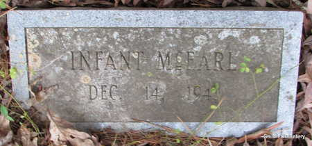 MCEARL, INFANT - Garland County, Arkansas | INFANT MCEARL - Arkansas Gravestone Photos