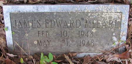 MCEARL, JAMES EDWARD - Garland County, Arkansas | JAMES EDWARD MCEARL - Arkansas Gravestone Photos