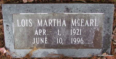 MCEARL, LOIS MARTHA - Garland County, Arkansas | LOIS MARTHA MCEARL - Arkansas Gravestone Photos