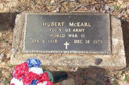 MCEARL (VETERAN WWII), HUBERT - Garland County, Arkansas | HUBERT MCEARL (VETERAN WWII) - Arkansas Gravestone Photos