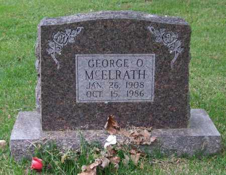 MCELRATH, GEORGE O. - Garland County, Arkansas | GEORGE O. MCELRATH - Arkansas Gravestone Photos