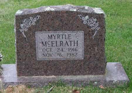 BARNETT MCELRATH, MYRTLE - Garland County, Arkansas | MYRTLE BARNETT MCELRATH - Arkansas Gravestone Photos