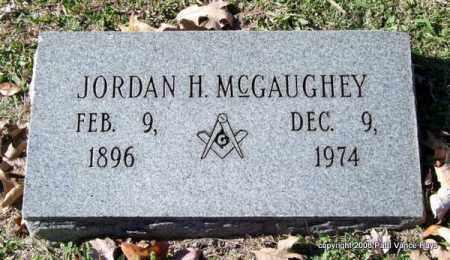 MCGAUGHEY, JORDAN H. - Garland County, Arkansas | JORDAN H. MCGAUGHEY - Arkansas Gravestone Photos