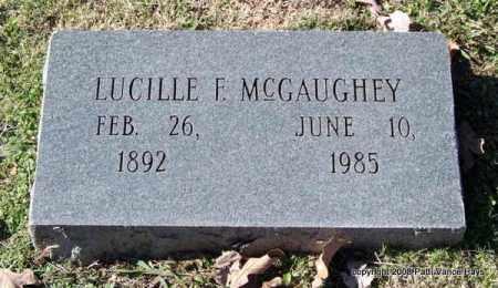 MCGAUGHEY, LUCILLE F. - Garland County, Arkansas | LUCILLE F. MCGAUGHEY - Arkansas Gravestone Photos