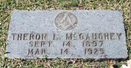 MCGAUGHEY, THERON L. - Garland County, Arkansas | THERON L. MCGAUGHEY - Arkansas Gravestone Photos