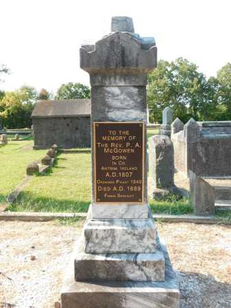 MCGOWEN, REV., P. A. - Garland County, Arkansas | P. A. MCGOWEN, REV. - Arkansas Gravestone Photos