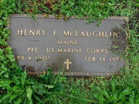 MCLAUGHLIN (VETERAN), HENRY E - Garland County, Arkansas | HENRY E MCLAUGHLIN (VETERAN) - Arkansas Gravestone Photos