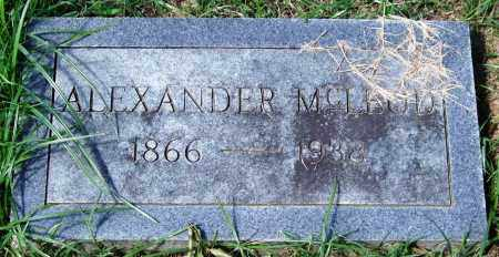 MCLEOD, ALEXANDER - Garland County, Arkansas | ALEXANDER MCLEOD - Arkansas Gravestone Photos