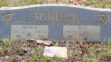 MCNEELY, FRANK B. - Garland County, Arkansas | FRANK B. MCNEELY - Arkansas Gravestone Photos