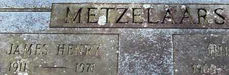METZELAARS, JAMES HENRY - Garland County, Arkansas | JAMES HENRY METZELAARS - Arkansas Gravestone Photos
