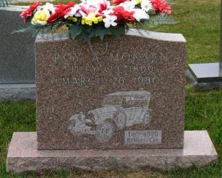 MONSEN, ROY A. - Garland County, Arkansas | ROY A. MONSEN - Arkansas Gravestone Photos