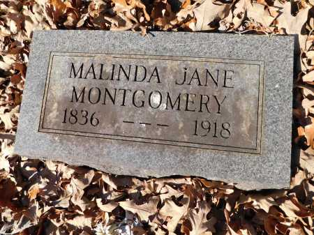MONTGOMERY, MALINDA JANE - Garland County, Arkansas | MALINDA JANE MONTGOMERY - Arkansas Gravestone Photos
