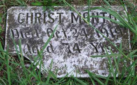 MONTO, CHRIST - Garland County, Arkansas | CHRIST MONTO - Arkansas Gravestone Photos