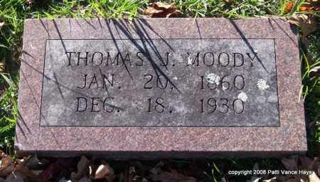 MOODY, THOMAS J. - Garland County, Arkansas | THOMAS J. MOODY - Arkansas Gravestone Photos