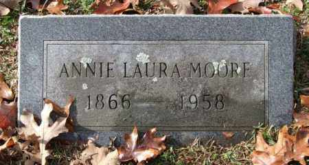 MOORE, ANNIE LAURA - Garland County, Arkansas | ANNIE LAURA MOORE - Arkansas Gravestone Photos