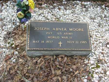 MOORE (VETERAN WWII), JOSEPH ABNER - Garland County, Arkansas | JOSEPH ABNER MOORE (VETERAN WWII) - Arkansas Gravestone Photos
