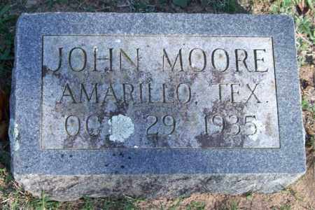 MOORE, JOHN - Garland County, Arkansas | JOHN MOORE - Arkansas Gravestone Photos