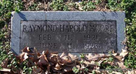 MOORE, RAYMOND HAROLD - Garland County, Arkansas | RAYMOND HAROLD MOORE - Arkansas Gravestone Photos