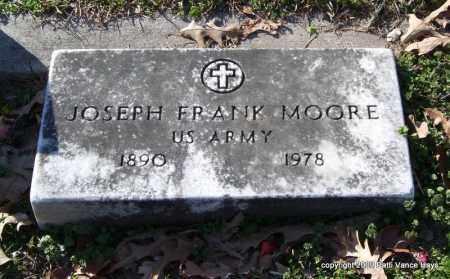 MOORE (VETERAN), JOSEPH FRANK - Garland County, Arkansas | JOSEPH FRANK MOORE (VETERAN) - Arkansas Gravestone Photos