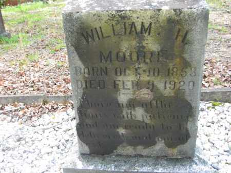 MOORE, WILLIAM H. - Garland County, Arkansas | WILLIAM H. MOORE - Arkansas Gravestone Photos