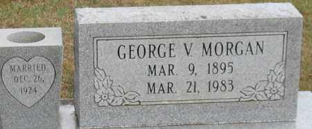 MORGAN, GEORGE V. (CLOSE UP) - Garland County, Arkansas | GEORGE V. (CLOSE UP) MORGAN - Arkansas Gravestone Photos