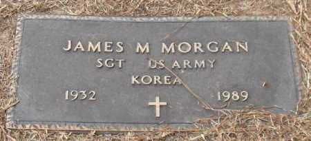 MORGAN (VETERAN KOR), JAMES M - Garland County, Arkansas | JAMES M MORGAN (VETERAN KOR) - Arkansas Gravestone Photos