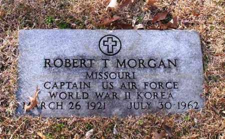 MORGAN (VETERAN 2 WARS), ROBERT T - Garland County, Arkansas | ROBERT T MORGAN (VETERAN 2 WARS) - Arkansas Gravestone Photos