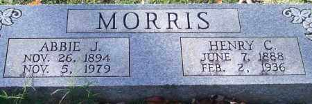 MORRIS, ABBIE J. - Garland County, Arkansas | ABBIE J. MORRIS - Arkansas Gravestone Photos