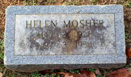 MOSHER, HELEN - Garland County, Arkansas | HELEN MOSHER - Arkansas Gravestone Photos