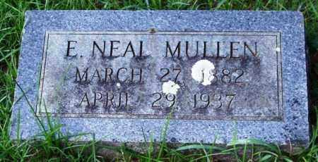 MULLEN, E. NEAL - Garland County, Arkansas | E. NEAL MULLEN - Arkansas Gravestone Photos