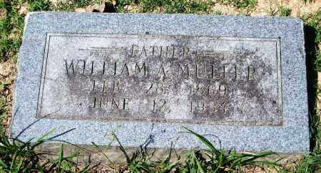 MULLER, WILLIAM A. - Garland County, Arkansas | WILLIAM A. MULLER - Arkansas Gravestone Photos