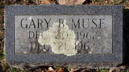 MUSE, GARY B. - Garland County, Arkansas | GARY B. MUSE - Arkansas Gravestone Photos