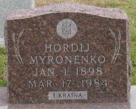 MYRONENKO, HORDIJ - Garland County, Arkansas | HORDIJ MYRONENKO - Arkansas Gravestone Photos