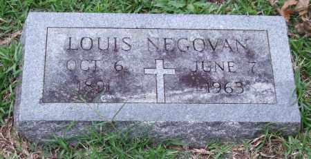 NEGOVAN, LOUIS - Garland County, Arkansas | LOUIS NEGOVAN - Arkansas Gravestone Photos