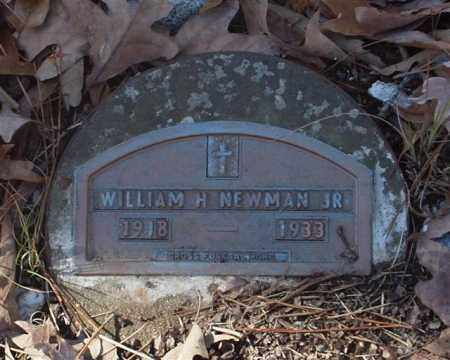 NEWMAN, JR., WILLIAM H. - Garland County, Arkansas | WILLIAM H. NEWMAN, JR. - Arkansas Gravestone Photos