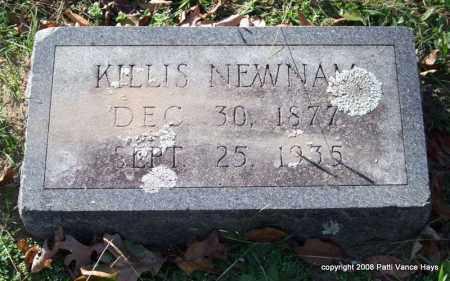 NEWNAM, KILLIS - Garland County, Arkansas | KILLIS NEWNAM - Arkansas Gravestone Photos