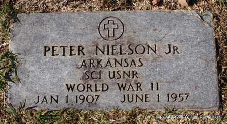 NIELSON, JR. (VETERAN WWII), PETER - Garland County, Arkansas | PETER NIELSON, JR. (VETERAN WWII) - Arkansas Gravestone Photos