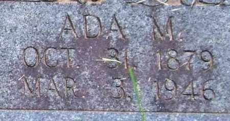 NOBLE, ADA M. - Garland County, Arkansas | ADA M. NOBLE - Arkansas Gravestone Photos