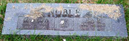 NOBLE, CHARLES A. - Garland County, Arkansas | CHARLES A. NOBLE - Arkansas Gravestone Photos